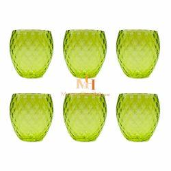 grüne trinkgläser