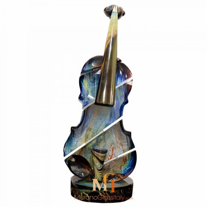 murano glass violin