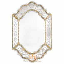 miroir de couloir design