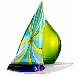 sailboat sculpture