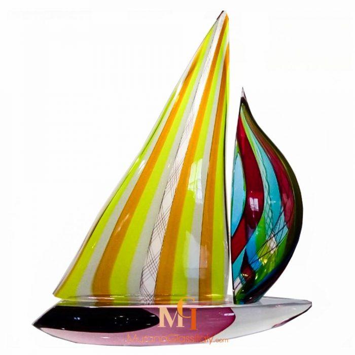 sailboat sculpture