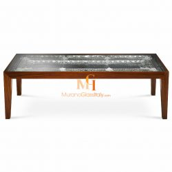 italian glass dining table