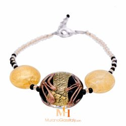 murano glass bracelet made in italy