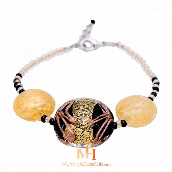 bracelet perle de verre