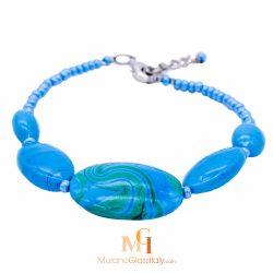 bracelet verre murano