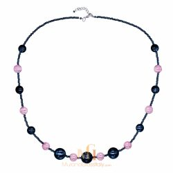 venetian glass beads necklace