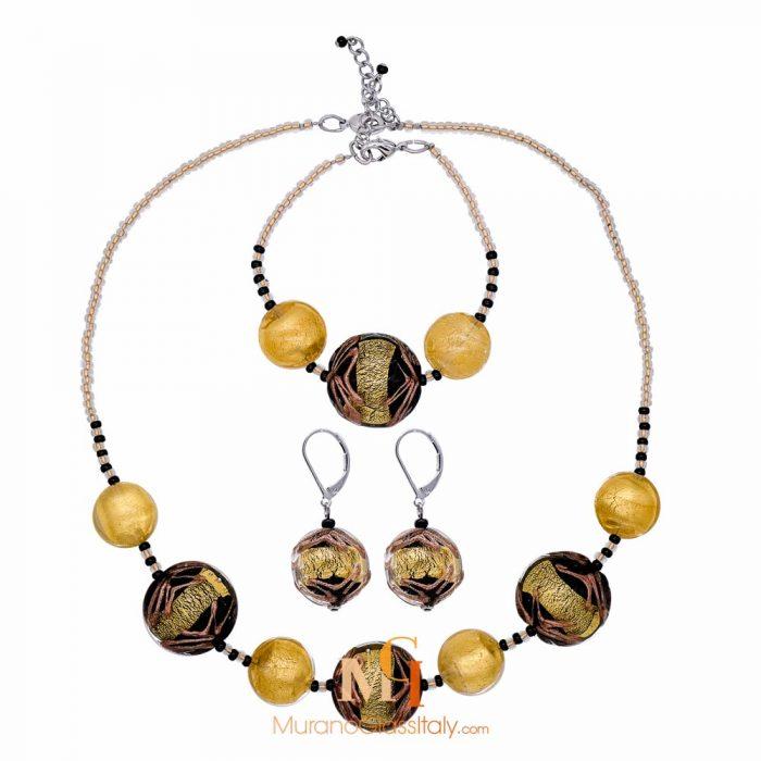 ensemble bijoux femme or