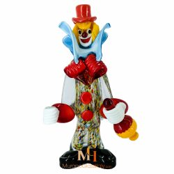 Clown Verre de Murano