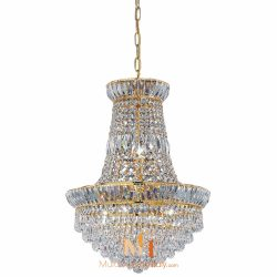 large chandelier crystals